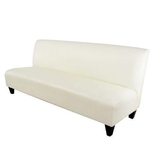 Swingline White Leather