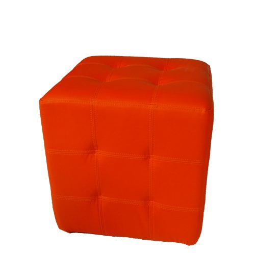 Tuft Dario Orange Leather