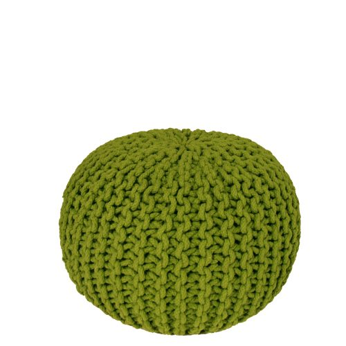 Tuft Pin Cushion Green Knit