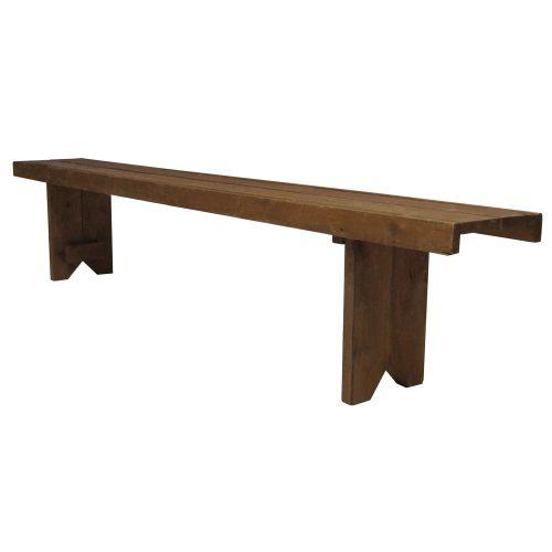 Bench Cedar V-Leg