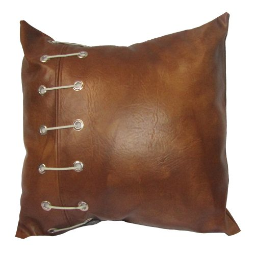 Brown Football Leather