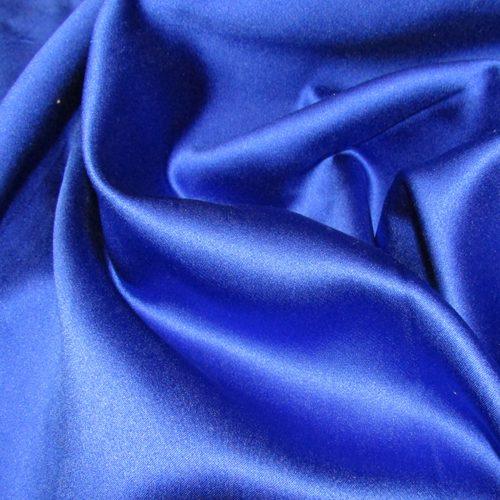Blue Satin FR Drape