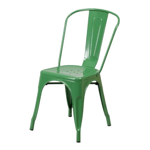 Metal Green Chair