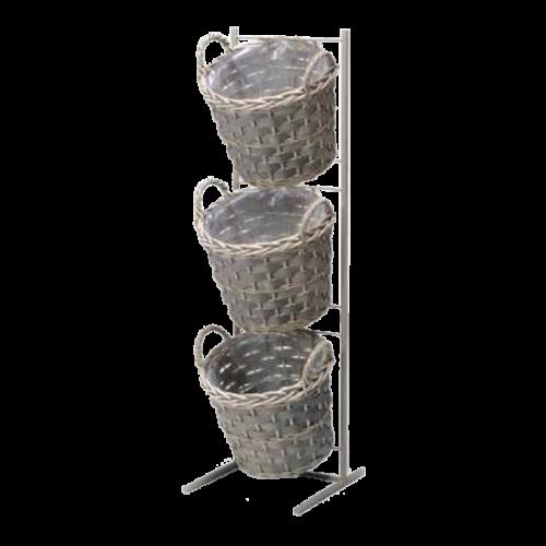 3 Basket Display
