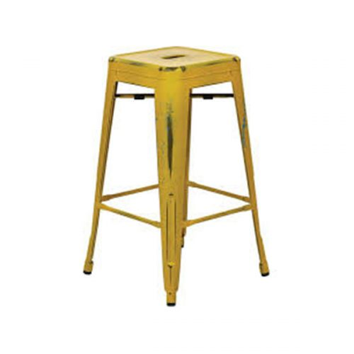 Bar-stool-matte-Yellow