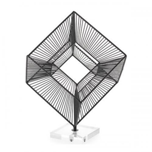 Radiant cube - Black