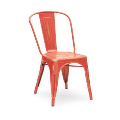 Dinning Chair_Matte Red