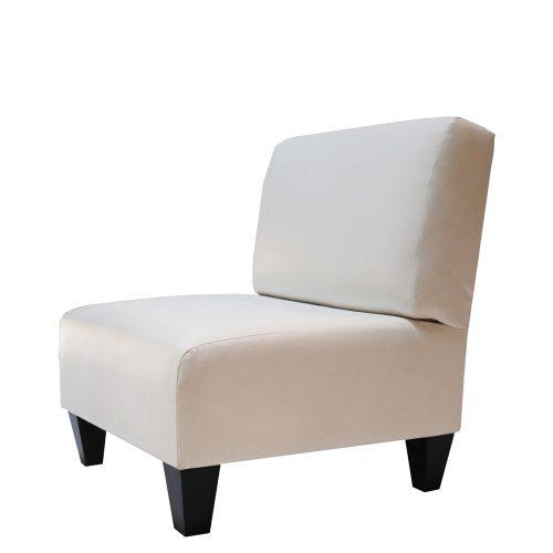 Slipper White Leather