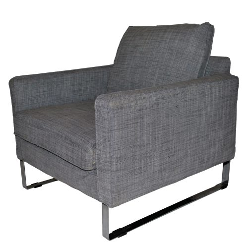 Melby Arm Chair Isunda Grey
