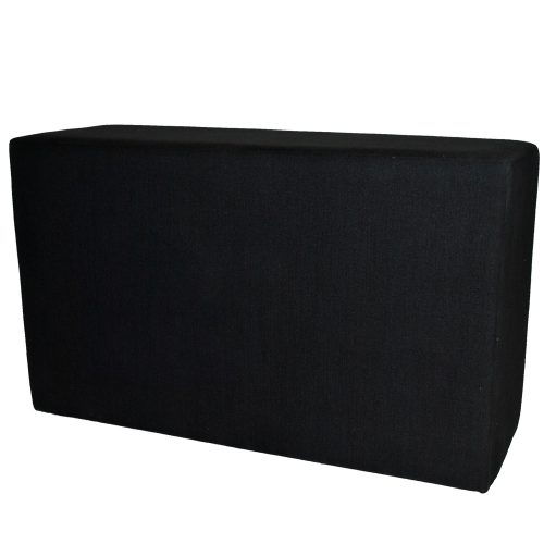 Modular Black Fabric
