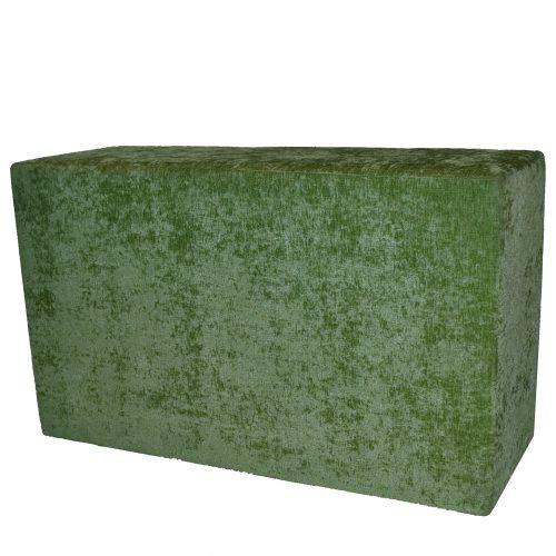 Modular Green Crushed Bench 44x20x16