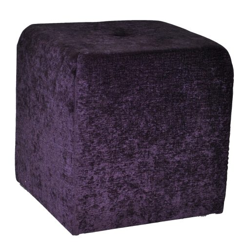 Purple Crushed Fabric Tuft