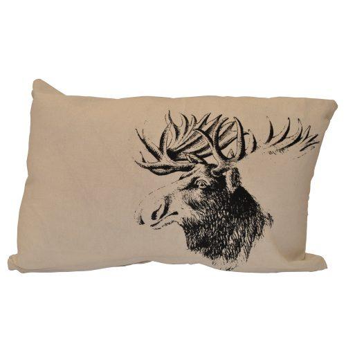 Beige Moose Head