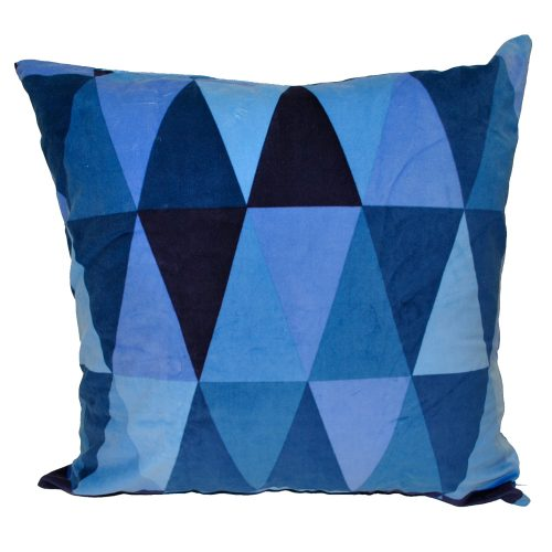 Blue Velvet Multishade Triangles