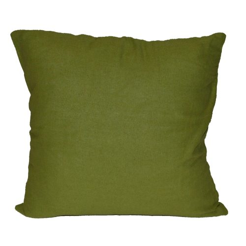 Green Lime Green Cotton 17x17